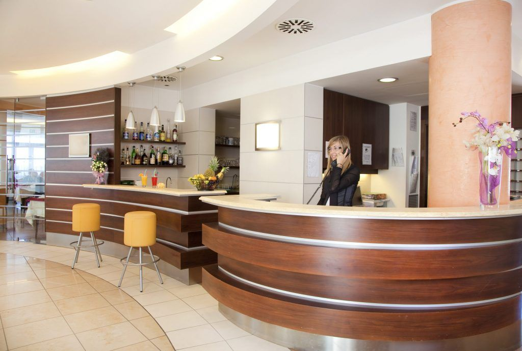 Reception Hotel Internazionale Bellaria