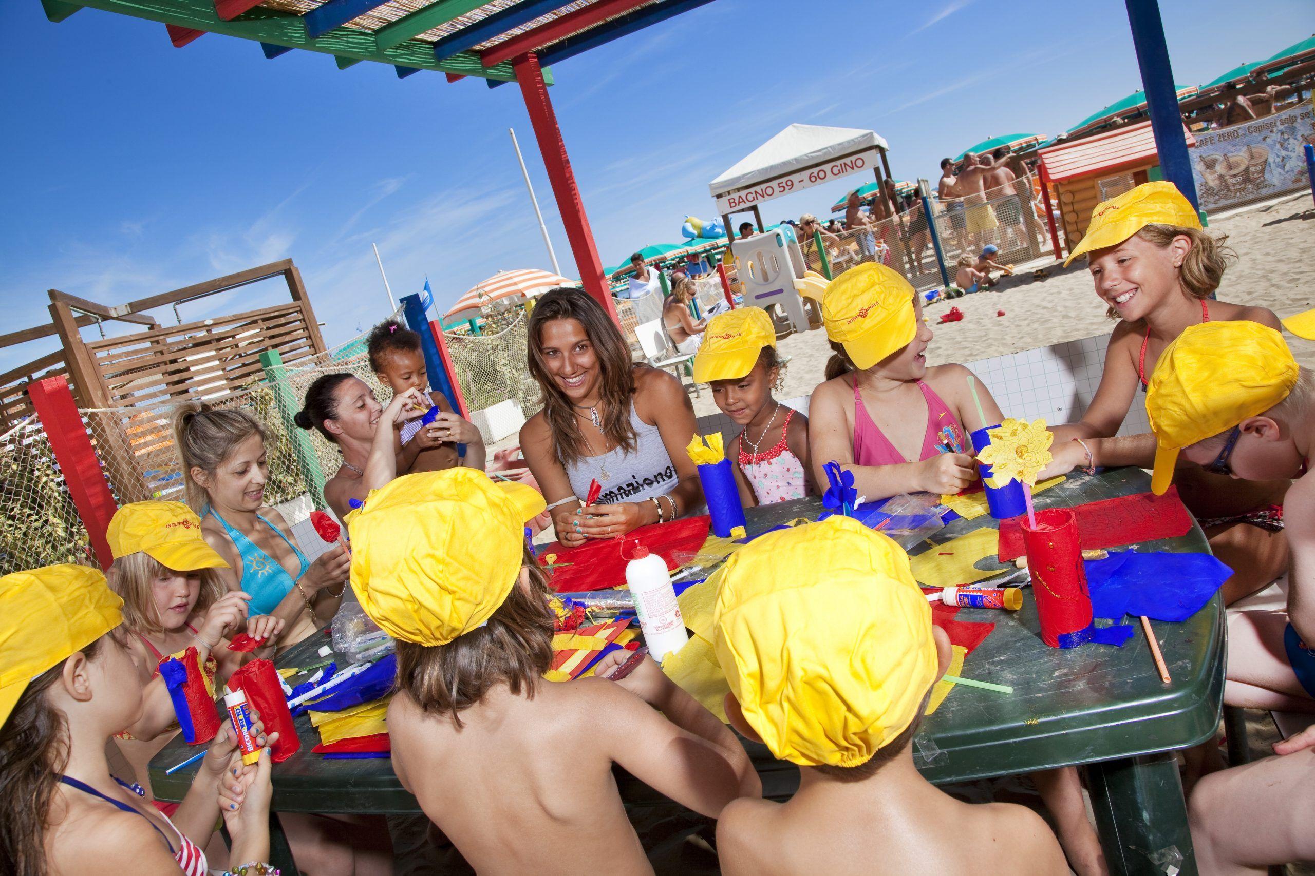 Animatori in Spiaggia Hotel