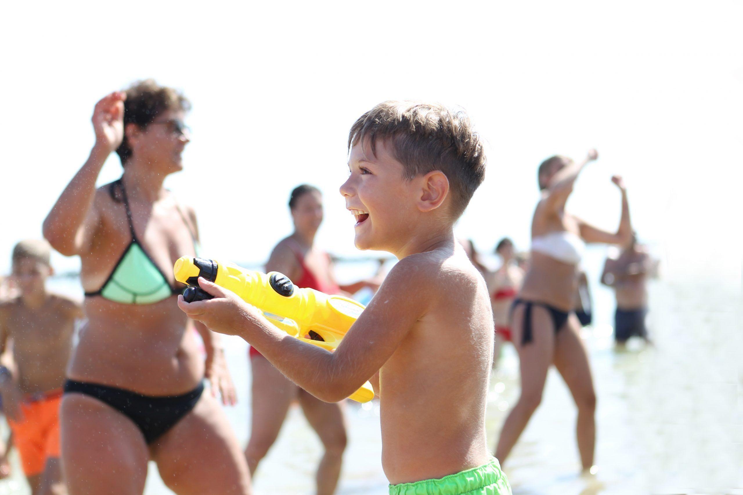 Divertimento in Spiaggia Romagnola